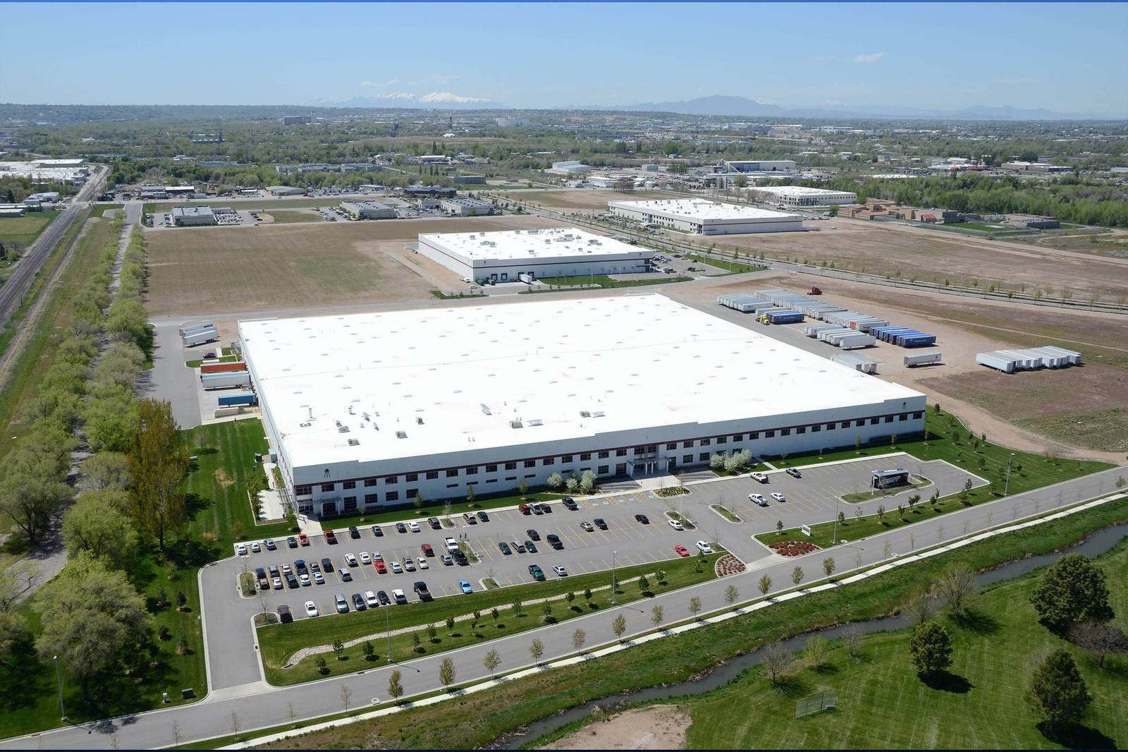 Scott Usa Manufacturing And Distribution Facility Big D