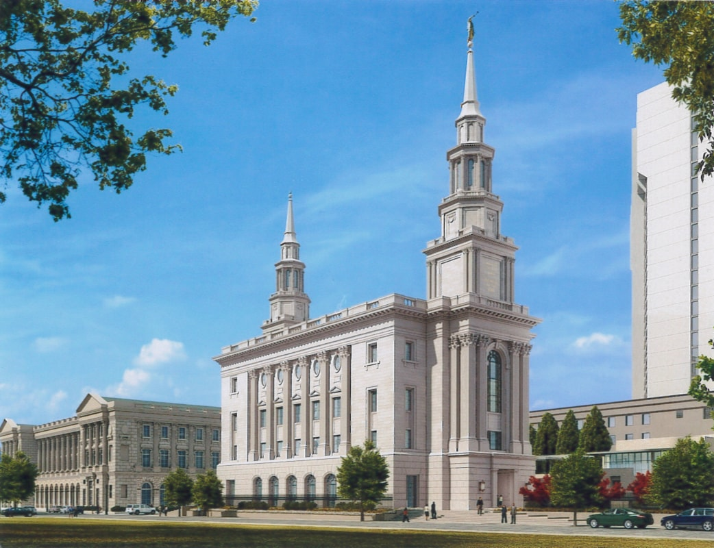 Philly Temple Rendering