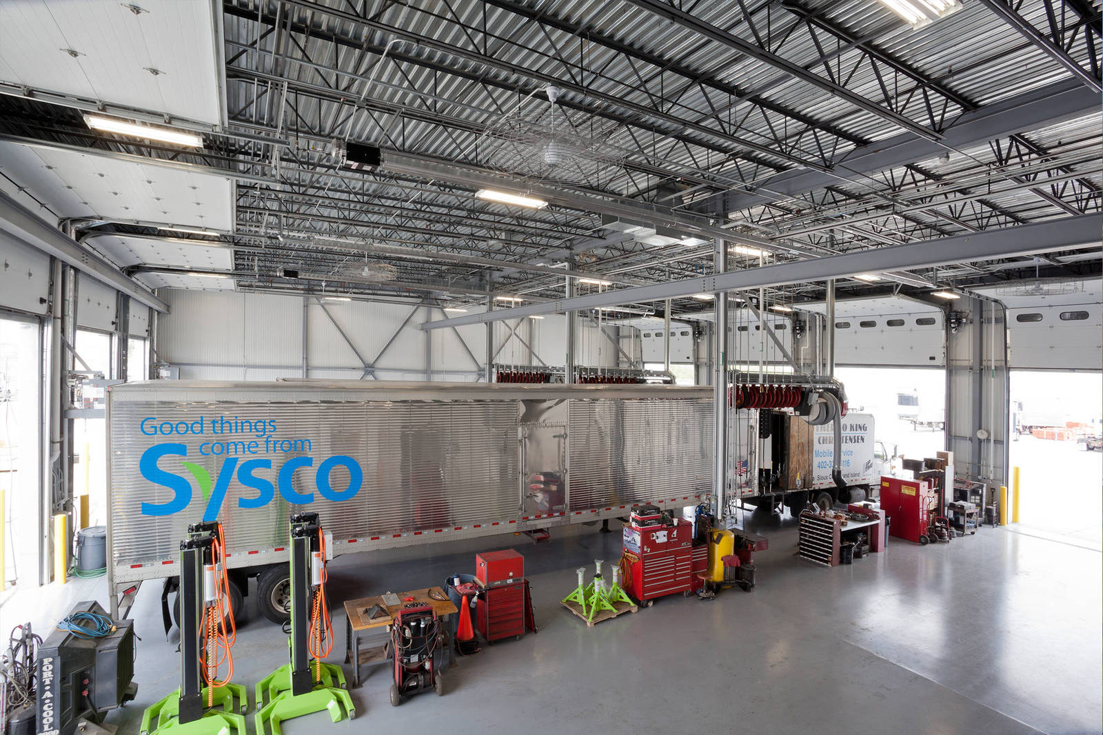 lincoln poultry  sysco company big  construction