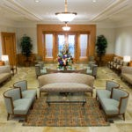 Twin Falls Temple waiting area
