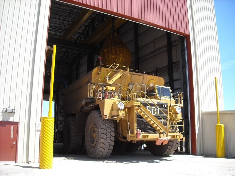 Spring Creek Mine Truck Shop And Truck Wash