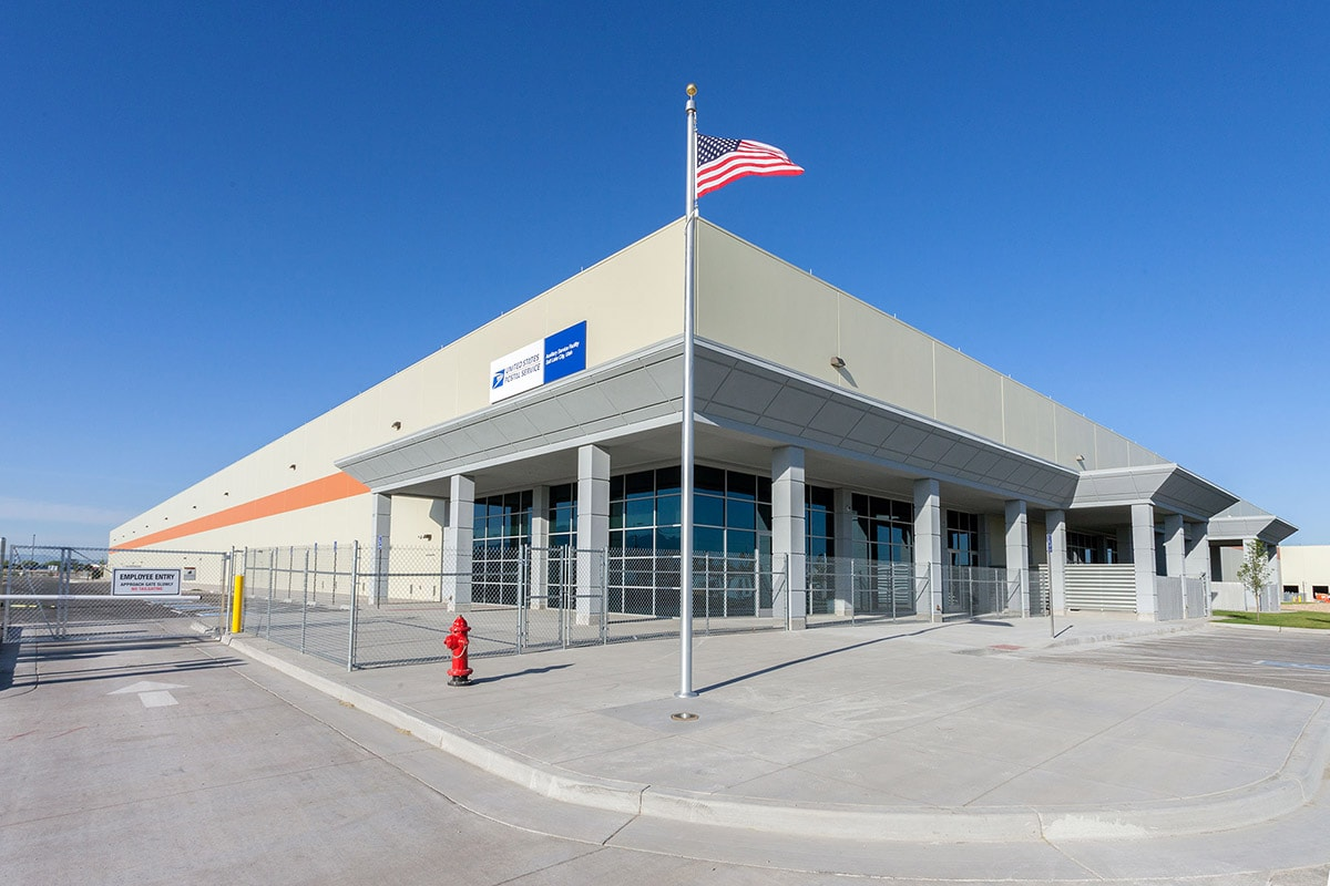 Usps Auxiliary Service Facility Big D Construction
