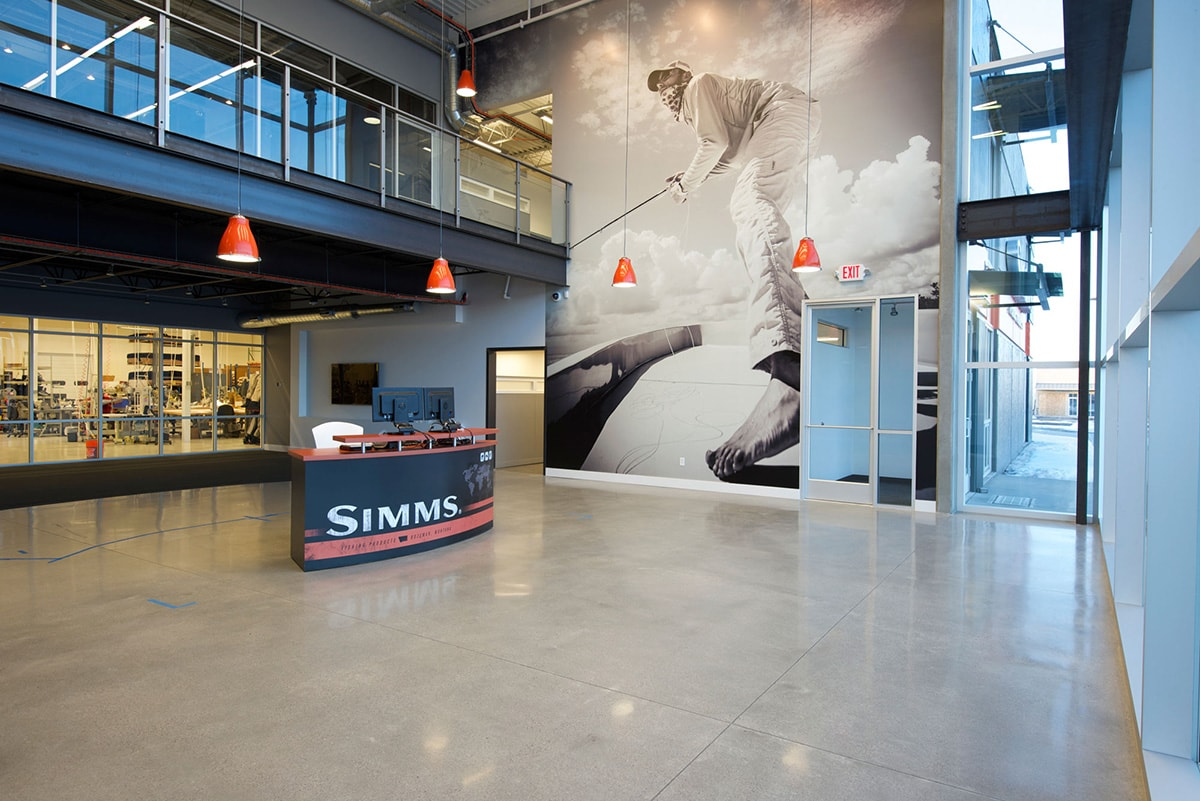 Larry Miller Lexus >> Simms Corporate Headquarters | Big-D Construction