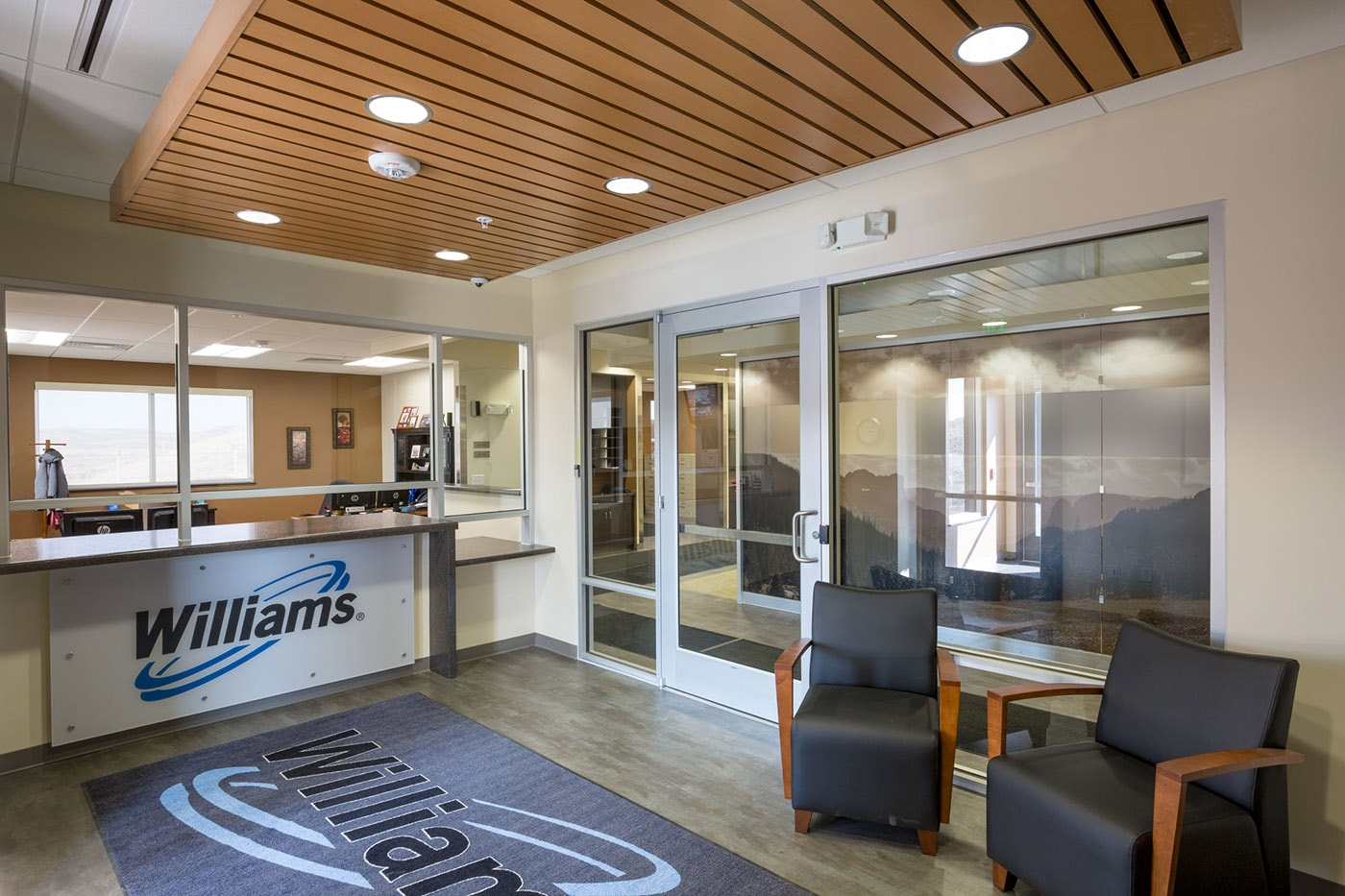 Williams opal office building big d construction for Metal building office plans