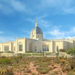 Rendering of Tucson Arizona Temple